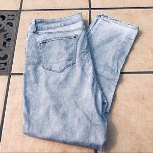 NYDJ ankle jeans - size 16 - light blue - lift